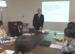 「日本アーカイブズ学は東日本大震災の被災地へ何ができるのか」 特別講義